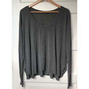 Brandy Melville Dark Grey Long Sleeve